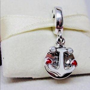 Jewelry - Pandora Anchor Of Love Dangle Charm